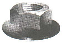 Metric Hex Flange Nuts